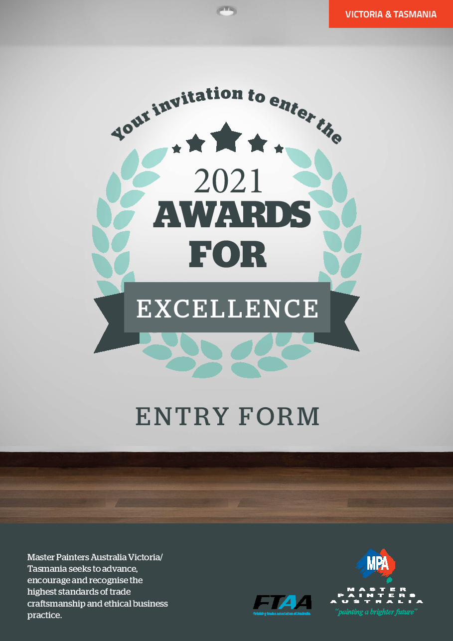 2021 Awards for Excellence Entry Form 1